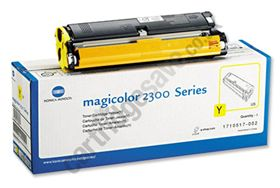 Genuine Konica-Minolta magicolor 2300 Toner YELLOW