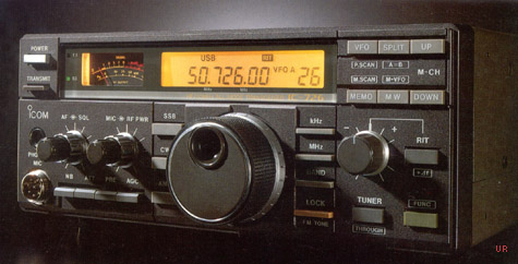 ICOM IC 726 Amateur HF/VHF Transceiver