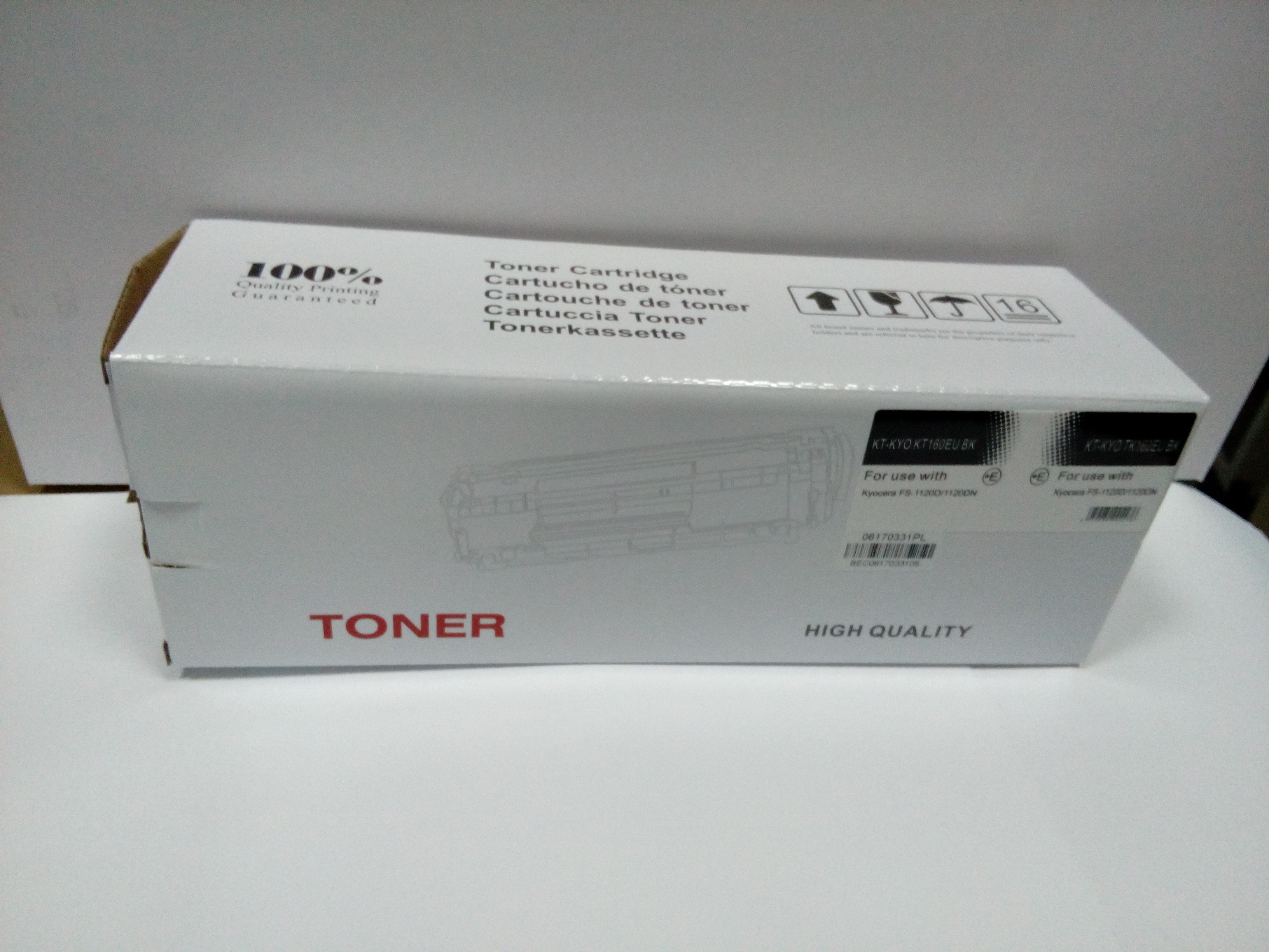 Kyocera Mita P2035 TK-162 cartridge - black 100% NEW